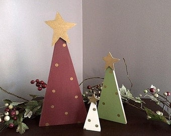 Trinity Trees, set of 3