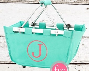Market tote / monogrammed market tote / Mini / easter tote / kids tote / personalized market tote