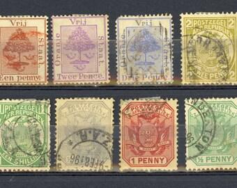 29 Foreign Stamps Haiti Honduras Nicaragua Salvador Costa Rica Canada New Foundland Orange River Colony South Africa Stamp Lot  I46