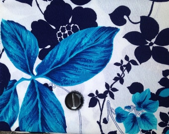 Amazing Hawaiian print polyester fabric used for maxi dresses