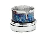 Spinner Ring, Worry Ring, Fidget Ring, Meditation Ring