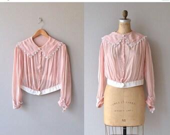 25% OFF.... Sitting Pretty blouse | vintage 1920s blouse | silk 20s blouse