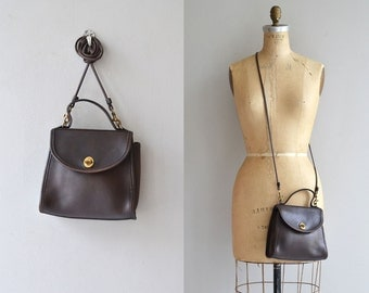 Coach 'Regina' bag | brown leather Coach purse | Coach cross body bag
