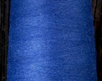 cashmere wool blend yarn 24 S/2 lace weight, denim