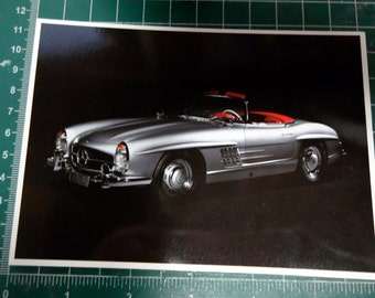 NOS Mercedes Benz SL CLass family note post cards FREE S/H