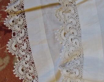 1910 petticoat, old cotton under skirt, Boho skirt, Hippie Skirt, Festival skirt, Period Fashion,Dancehall skirt, Steampunk under skirt
