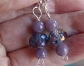 Upcycled Vintage Bead Earrings
