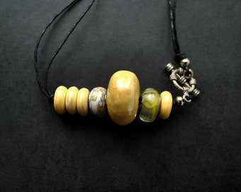 Necklace/Pendant -  Sunny Ceramics - multifunctional for creatives, modern, unique, art to wear, ooak, contemporary - by Schneider Gallery