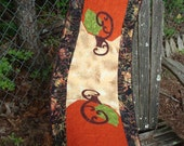 Fall Pumpkin Quilted Table Runner