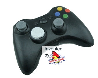 Soap for Children and Gamers, Xbox 360 Black Controller GRAPEFRUIT scented, Video Game Geek Gift