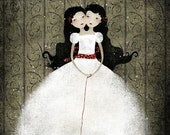SUMMER SALE - 50% OFF - The Siamese Sisters - open edition print