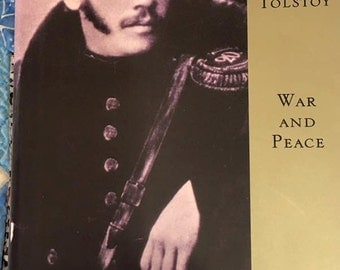 Vintage 1994 First Edition War And Peace Leo Tolstoy The Modern Library Classic