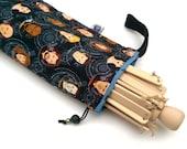 Yarn Swift Cover Yarn Winder Drawstring Padded Bag - Star Trek - Engage