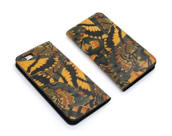 Leather iPhone 6 case, iPhone 6s Case, iPhone 6s Plus Case - Hawkmoth (Exclusive Range)