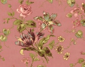 COUPON CODE SALE - Isabella, Main Floral, Coral, Penny Rose, Riley Blake Designs, 100% Cotton Quilt Fabric, Pink Quilting Fabric