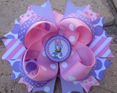 Daisy Duck Disney inspired Custom Stacked Layered Boutique Hair Bow