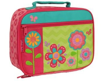 Personalized Stephen Joseph Flower Lunchbox