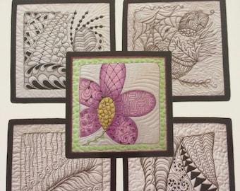 Zen Quilting Workbook by CZT Pat Ferguson