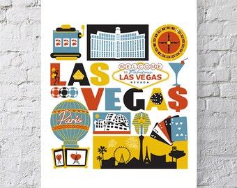 Las Vegas Nevada print