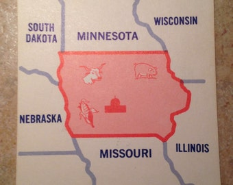 Iowa State Teaching Card