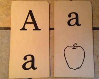 Aa apple Phonics Teaching Cards