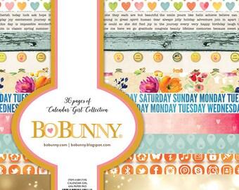 Bo Bunny Calendar Girl - 6x6 paper pack