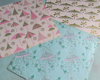 Vintage Bridal Wedding Shower Gift Wrapping Paper Sheets