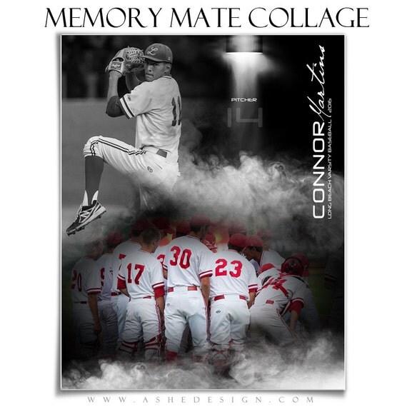 sports memory mate collage set full steam 2 8x10 digital photoshop templates hz vt for. Black Bedroom Furniture Sets. Home Design Ideas