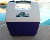 Vintage Little Lunchmate By Igloo Cooler Purple