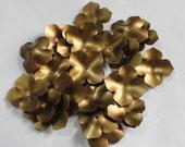 25 pcs Matte Golden Color Flower Sequins/KBBF662