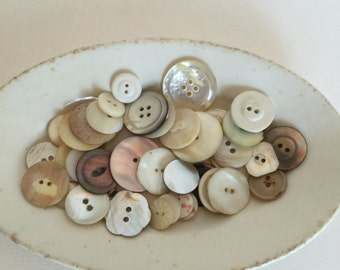 Mother of Pearl Button Lot