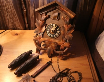 Vintage Cuckoo Clock Made in Germany