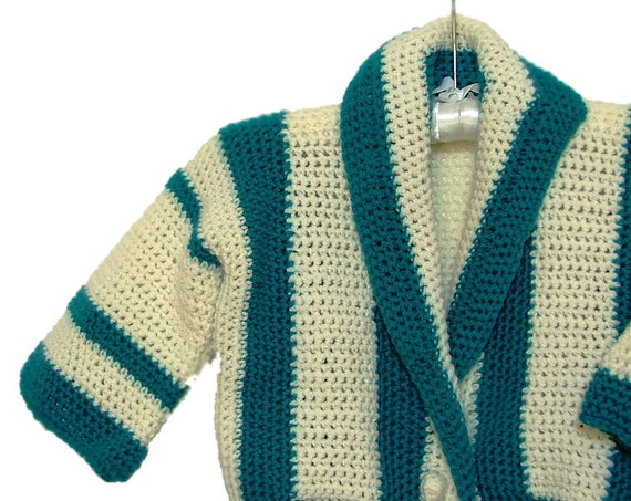 Sweater Baby Boy, Nautical Sweater, Boy's Cardigan