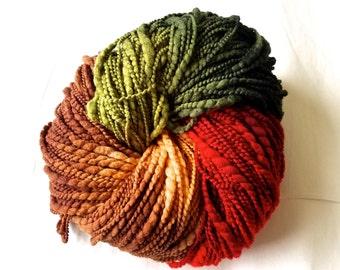 Schaefer Elaine 2 skeins hand-dyed bulky merino wool Yarn Forest Trail