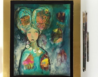 This Is Everything - Framed Original Painting