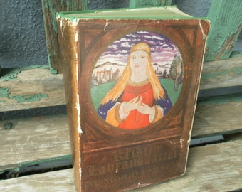 Kristin Lavransdatter by Sigrid Undset  Nobel Prize Edition 1929 19th printing