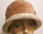 Vintage Emme Boutique 1960's Mod Women's Hat