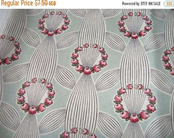 SUPER SALE SALE Wreath on Pale green Anna Griffin Eleanor Collection yard