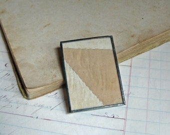 Quilt Pin Brooch Sale Jewelry Creme Neutral