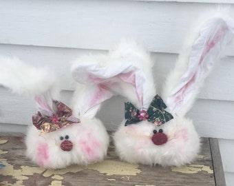 Fuzzy bunny head