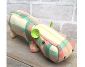 Hermione the Hippo Softie Pattern pdf instant download