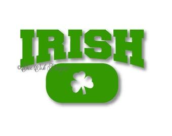 St. Patrick's Day Irish SVG File PDF / dxf / jpg / png / eps / ai / svg file for Cameo, svg file for Cricut & other electronic cutters