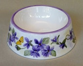 Hold for Linda Purple Violet Spill Proof Pet Bowl Large