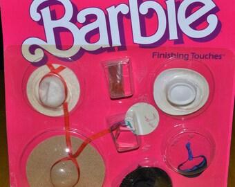 1982 noc mattel Barbie Finishing Touches hats sun glasses doll fashion