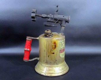 Antique Brass Blow Torch, Model Turner 30A