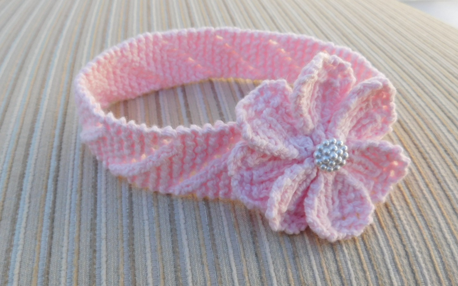 Instant Download 219 Knitting Pattern Baby Headband
