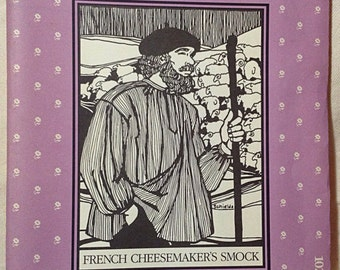 French Cheesemaker's Smock Pattern from Folkwear