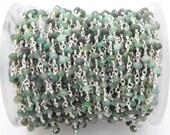 emerald beads chain