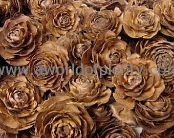 Cedar Roses - Pine Cones for Potpourri, Wreaths, and Floral Decor - 12 oz