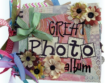 Scrapbook, Family Album, Wedding Album, Anniversary Album, Mini Scrapbook, Mini Scrapbook, Memory album, Birthday Gift, Journaling Album